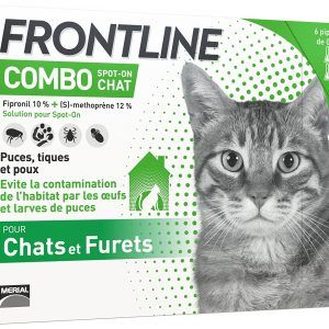 pipettes pour chat frontline